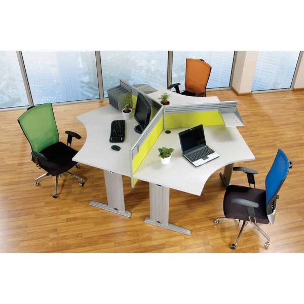 WYSEN office system Tri-table-set